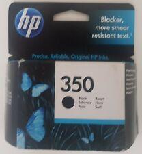 HP 350 New Black printer cartridge for Deskjet, Officejet Photosmart ex-warranty