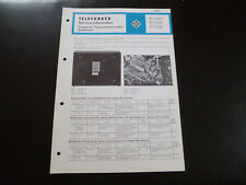 Tv, Video & Audio Original Service Manual Telefunken W240hifi W248 W 268 Tw 268 Hifi