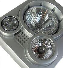 Lámpara de luz frontal estilo SVX Kit Land Rover Defender 90 110 Rejilla cabeza vpldv 0001