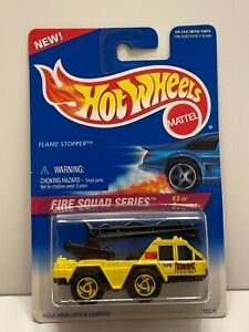HOT WHEELS 1996 Flame Stopper, Yellow, Fire Squad Series, Collectors #426