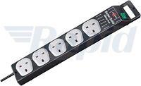 Brennenstuhl 1153343215 Super-Solid Line 5 Way Extension Socket 2.5m