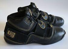 Nike Zoom Soldier 1 Lebron I Black Gold Size US 13