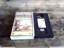 THE GOOD, THE BAD AND THE UGLY UK PAL VHS VIDEO 1987 Clint Eastwood Spaghetti