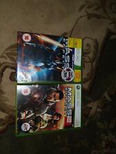 Xbox 360 Games Bundle . Mass Effect 2 & 3 .