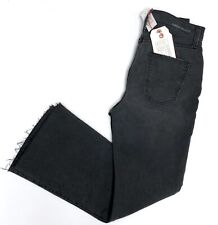 NWT Current/Elliott The Kick High Waist Cropped Flare Jeans Edgebrook $248 Sz 26