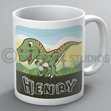 Personalised Dinosaur Mug Dinosaurs T-Rex Tyrannosaurus T Rex Cute Present Gift