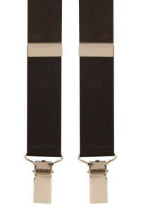 """HUNT & HOLDITCH UK MADE CLASSIC """"CLIP ON"""" BRACES 35MM  FIT UP TO 6XL"""