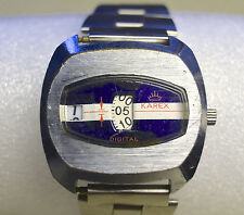 RARE KAREX DIGITAL MECHANICAL WIND UP WATCH