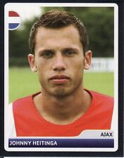 N°349 JOHNNY HEITINGA AJAX CHAMPIONS LEAGUE 2007 STICKER  NETHERLANDS PANINI