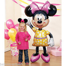 DISNEY Minnie Mouse FOIL SUPERSHAPE Airwalker Palloncino