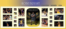 NEW!!  KOBE BRYANT KING OF NBA SIGNED PANORAMIC FRAME,  LIMITED 499 ONLY