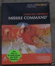 Missile Command Atari New Big Black Box 800/XL/XE