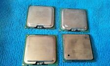 Lot of 4 Intel Pentium mix CPUs for Scrap Gold Recovery NOT TESTED SCRAP ONLY