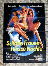 SCHÖNE FRAUEN - HEISSE NÄCHTE * A1-FILMPOSTER - German 1-Sheet 1964 RAR + SEXY