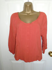JANE NORMAN PINTUCKED BLOUSE TOP UK 10