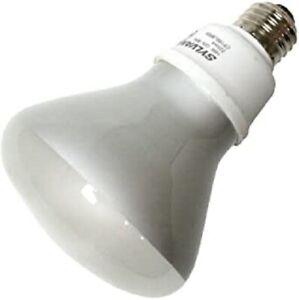 (6 LAMPS) SYLVANIA 29590 - 16 Watt CFL Light Bulb - Compact Fluorescent - BR30