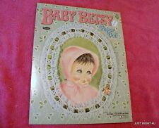 1967 Whitman (Baby Betsy) Paper Doll Book Uncut Exc