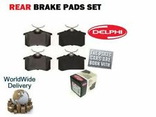 FOR PEUGEOT 308 1.4i VTi Petrol Estate 2008->ON REAR DELPHI BRAKE DISC PADS SET