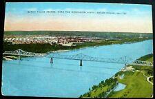 1940s Baton Rouge Bridge, Mississippi River, Baton Rouge, Louisiana