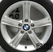 """4 CERCHI LEGA 7,5 x 17 """" BMW S 3 F30 ORIGINALI USATI 6796242 SILVER"""