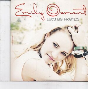 Emily Osment-Lets Be Friends promo cd single