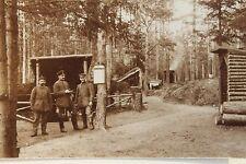 26590 Foto AK 1. Weltkrieg Soldaten Unterstand Gortemark 1916 PC CPA WW I