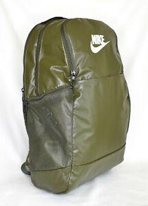 New Nike Brasilia Medium Training Backpack -- Cargo Khaki