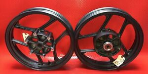 88-07 Kawasaki Ninja 250r OEM Wheels Rims Front / Rear OEM 20.1168