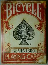 More details for series 1800 (red) deck of marked playing cards sealed new by ellusionist uspcc
