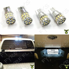 Super Bright White LED License plate & Cargo Light bulbs for Ford F Series R5+Q7