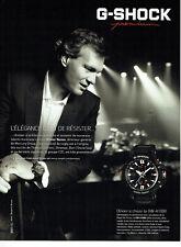 Publicité Advertising 078  2012  montre homme G-Shock  GW A 1000 Olivier Nusse
