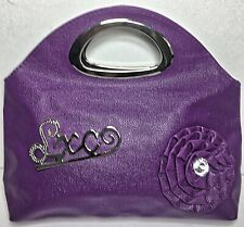 Tablet and Laptop Sleeve College Carrier Bag Zippered Purse Tote Purple