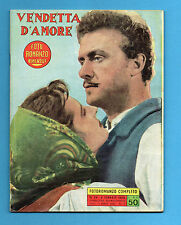 (BG24) FOTOROMANZO VICTORY n.24-1955- VENDETTA D'AMORE (TOSO-ROSSI-TOBBS.....)