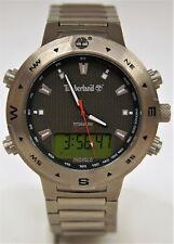 Timberland Titanium Analog/Digital Mens Quartz 40mm Watch 15000G B9726
