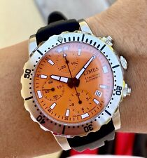 LIMES Archimedes Ickler Chronograph Diver Automatic Watch Germany Valjoux 7750