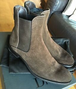 DIOR CHELSEA BOOTS IN BROWN SUEDE AS SEEN ON HARRY STYLES