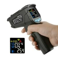 550℃RM500PR Industry Digital Non-Contact IR Thermometer Infrared Temperature Gun
