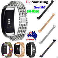 Stainless Steel Bracelet Smart Watch Band Strap for Samsung Gear Fit2 SM-R360 AU