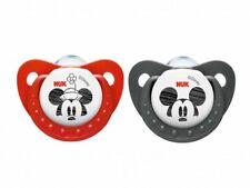 NUK Silicone Sleeptime Disney Mickey Soother Size 1 (0-6 months) 2pcs