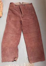 Aus  Nachlass alte braune Hose Uniformhose WW2 Zeit