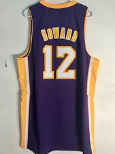 87080806c Adidas Swingman NBA Jersey LOS ANGELES Lakers Dwight Howard Purple sz XL