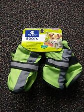 "Dog Boots Top Paw X Small GREEN ""BRAND NEW"""