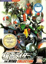 Masked Kamen Rider 13 Movie DVD Collection Box Set English Subtitle ALL Region