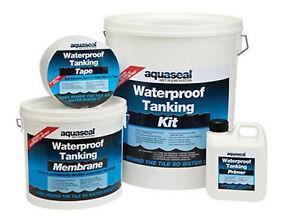 Everbuild Aquaseal Tanking kit, Waterproof, Wetrooms, Showers, Bathrooms