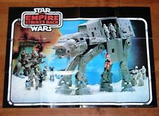 STAR WARS KENNER - 1981 ESB CATALOG FOLDOUT LEAFLET AT-AT POSTER PALITOY UK