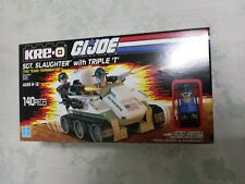 Hasbro KRE-O SDCC Exclusive G. I. Joe Sgt. Slaughter with Triple T vehicle pack