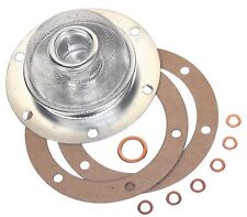 VOLKSWAGEN VW OIL STRAINER WITH GASKET 111115175B BUG GHIA BUS 71 AND UP