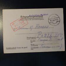 LETTERA PRIGIONIERO DA GUERRA STALAG II-D 18.09.42 KRIEGSGEFANGENENPOST POW