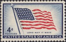 """USA 1957 (2 for $1 Sale) - Flag Issue - """"Old Glory"""" (48 Star Flag) - MNH - #1094"""