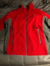 American Eagle Grey Fleece Jacket Large Mens